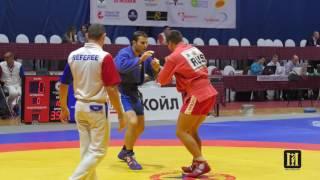 МИНАКОВ  vs Баялиев / Кубок России 2016 / самбо