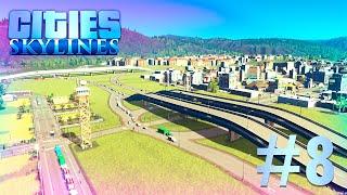 Cities Skylines - Борьба с пробками! #8