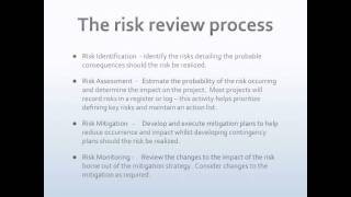 What is the purpose of risk management.