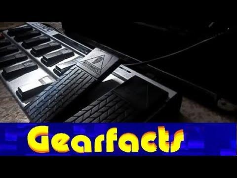 behringer fcb1010 midi controller guitar pedal demo youtube. Black Bedroom Furniture Sets. Home Design Ideas
