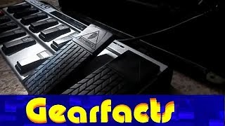 Behringer FCB1010 MIDI controller guitar pedal demo