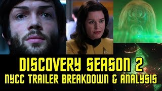 Star Trek: Discovery Season 2 NYCC Trailer! Breakdown and Review