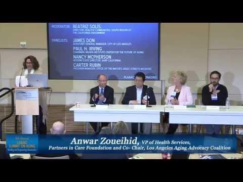 6th Annual LAAAC Summit on Aging - Age-Friendly Communities Panel