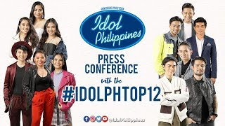 Idol Philippines TOP 12 press conference | June 23, 2019
