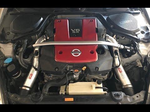 350z | Washing Engine Bay