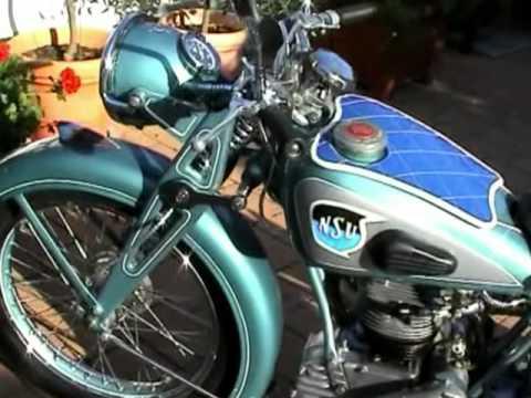 gut nsu osl 251 1949 classic oldtimer nsu osl motorrad. Black Bedroom Furniture Sets. Home Design Ideas
