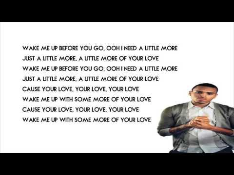 Chris Brown - Little More Lyrics