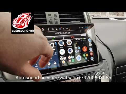 """Штатная Магнитола DS Toyota Prado 150 2010+9""""(8 ядер 2/32)android 8.1"""