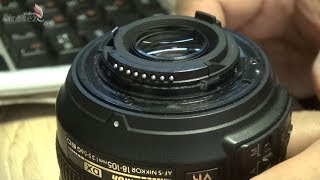 Заміна байонета Nikon AF-S DX 18-105mm f/3.5-5.6 G ED VR. Ремонт кріплення об'єктива NIKON