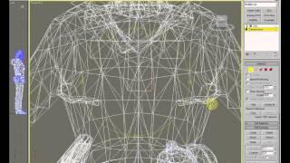 Удаление вертексов без повреждения привязки (ВИДЕОУРОКИ; 3ds Max; 3D Modeling; 3D Моделирование)