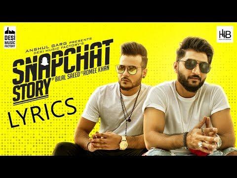 snapchat story song bilal saeed 320kbps mp3 download