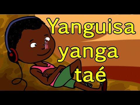 Yanguisa yanga taé - comptine africaine - Centrafrique - enfant - bébé - maternelle