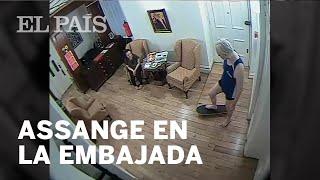 ASSANGE | Así fue su estancia en la EMBAJADA de Ecuador en Londres