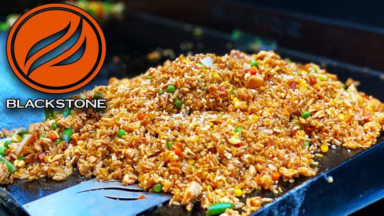 Blackstone Chicken Fried Rice Recipe
