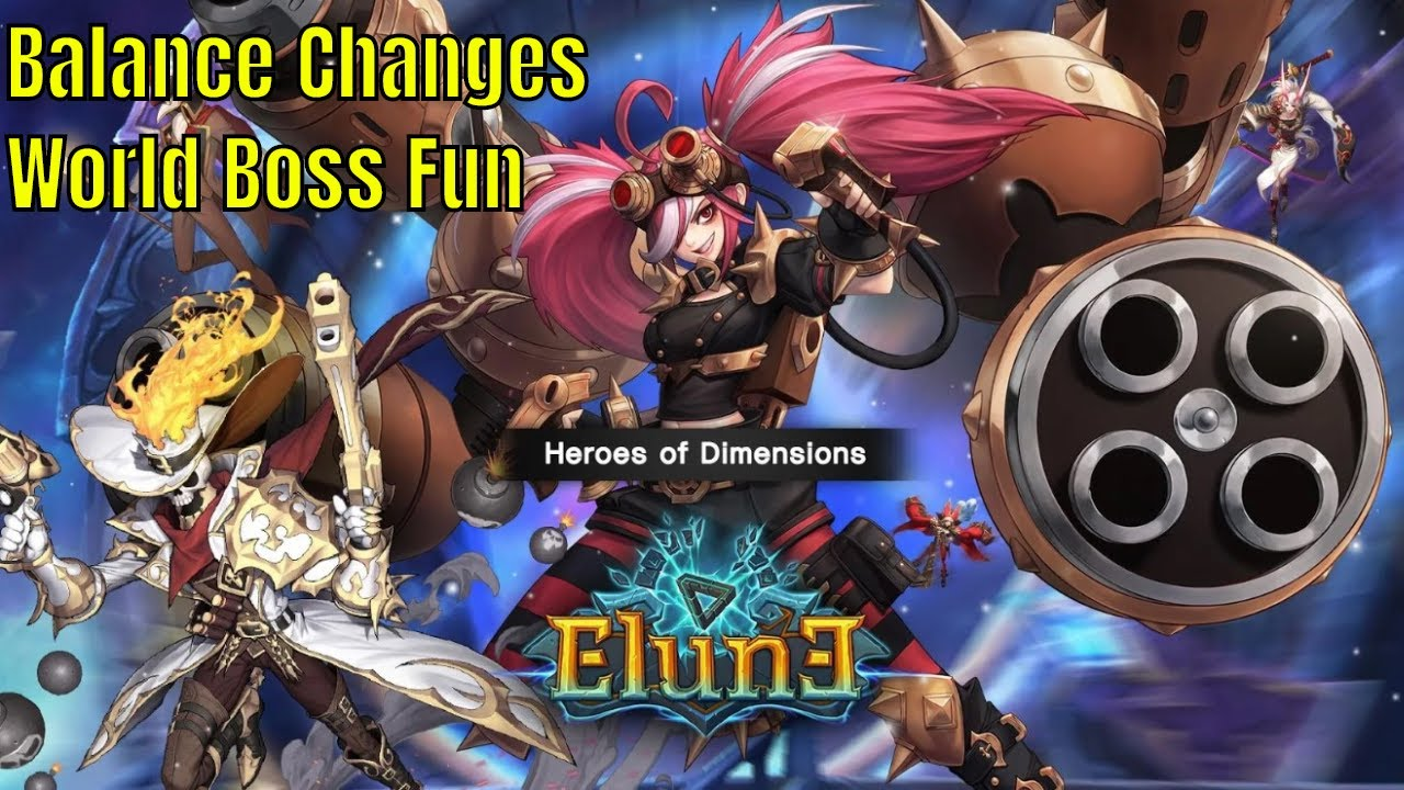 Elune: Balance Changes/2 World Boss Battles/Legendary Characters Getting  There Time