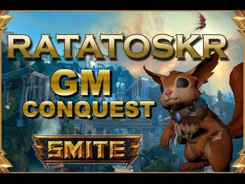 SMITE! Ratatoskr, Las flipadas no siempre son buenas :D! GM Conquest #35