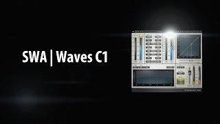 Waves C1 Compressor Tutorial - Compressor Gate (3/6)