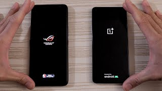 OnePlus 8T vs Asus ROG Phone 3 - Speed Test!