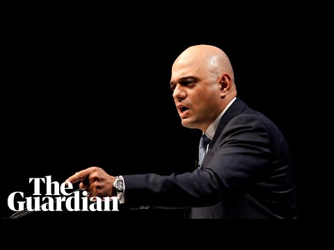 'It's time to rebuild trust': Sajid Javid enters Tory leadership race