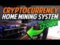CHECK OUT MY DAD'S HOME CRYPTOCURRENCY MINING SYSTEM FOR UNDER $2,000 | Chris Record Vlogs 96