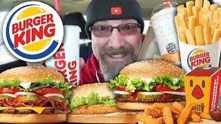 Burger King | MUKBANG 먹방 Eating Show