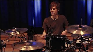 The script Man on a wire - drum cover Olle Birlev