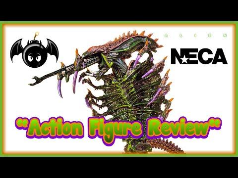 Repeat Neca Aliens Snake Alien action figure review  (Kenner