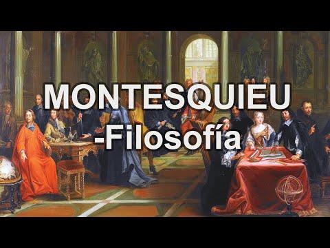 Montesquieu - Filosofía - Educatina