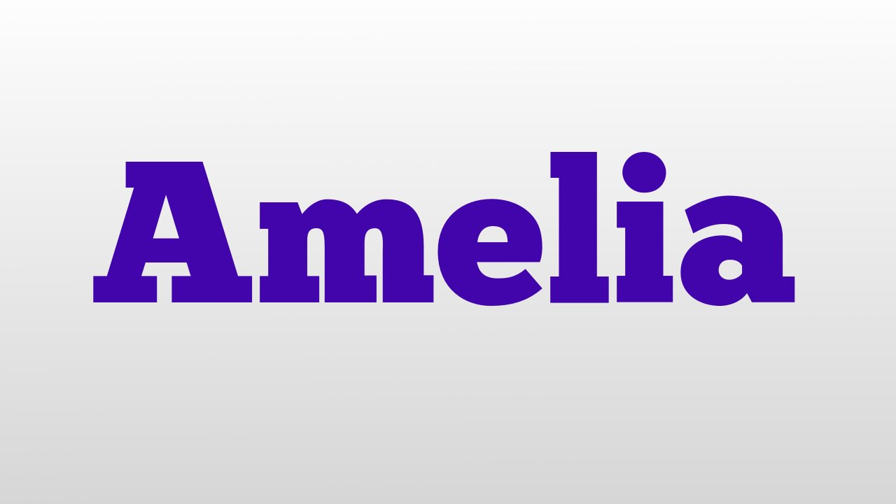 Meaning Amelia Gallery