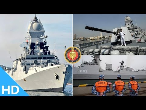 🔴Indian Defence Updates : INS KOLKATA Arrives in China's Qingdao Port