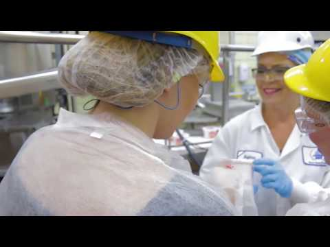 Making Cottage Cheese at Michigan Dairy