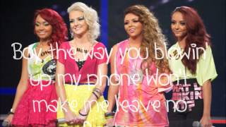 LittleMix-Telephone/ Radio Ga Ga- Lyrics [X-Factor]