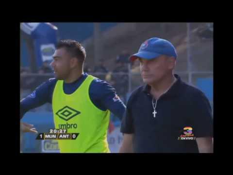 Así fue el segundo gol de Municipal ante Antigua GFC - Torneo Clausura 2019