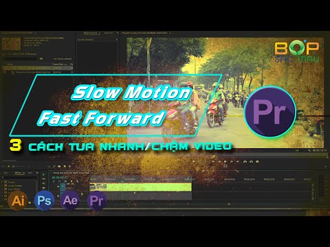 Hướng Dẫn Cách Tua Nhanh Chậm Video Mới Nhất | Slow Motion Và Fast Forward | Học Dựng Phim Cơ Bản
