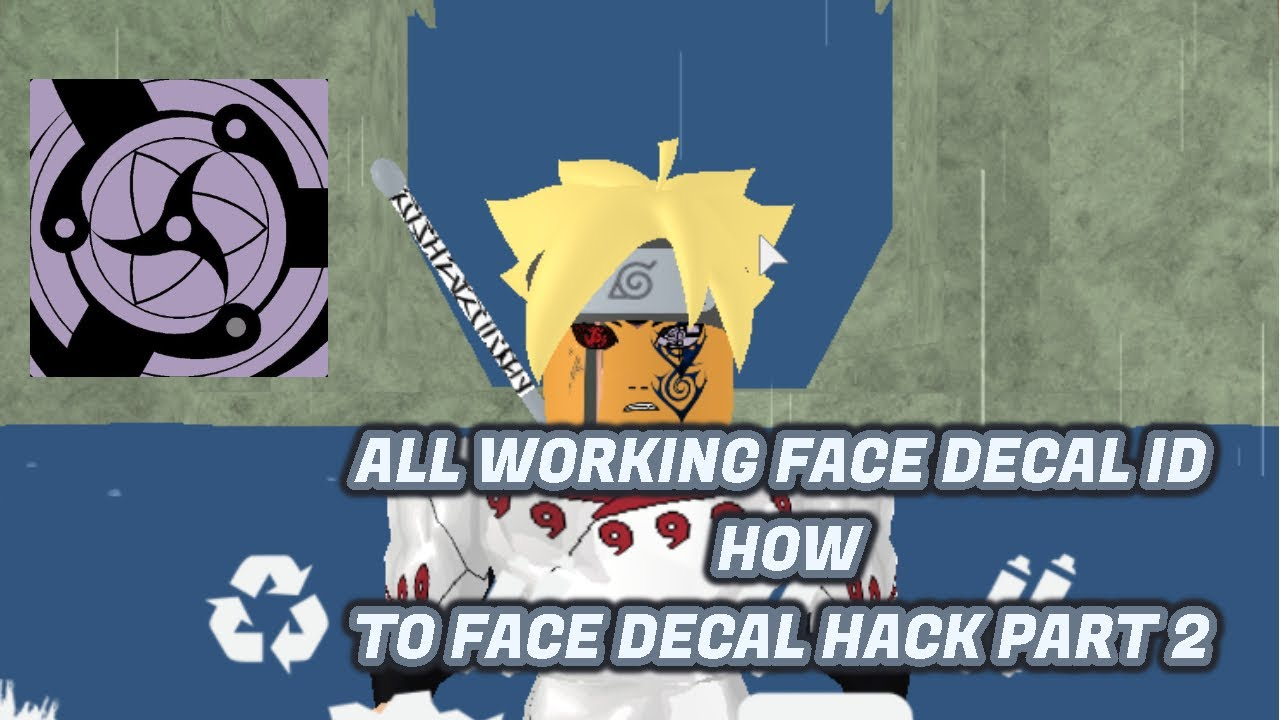 All Working Id For Face Decal Hack Eye Roblox Shinobi - roblox face decal id