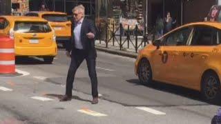 Watch 'Indiana Jones' Star Harrison Ford Direct Traffic