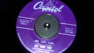 Watch Nat King Cole Mrs Santa Claus video