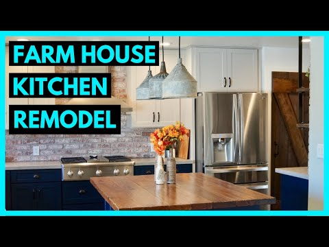 Kitchen Remodel to Modern Farmhouse