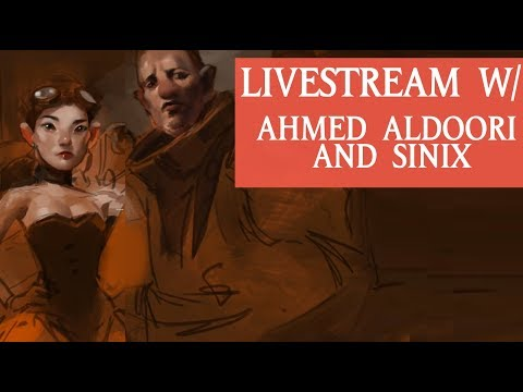 LIVESTREAM WITH AHMED ALDOORI AND SINIX
