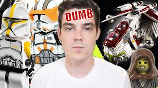 Why Do LEGO Star Wars Designers Think Fans Are STUPID? A Breakdown.