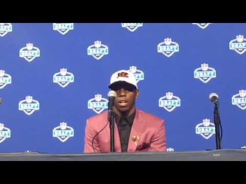 John Ross Cincinnati Bengals 2017 NFL Draft Pick #NFLDraft