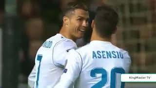 highlights goal...... liga champion, apoel vs real madrid 0-6,  21-11-2017