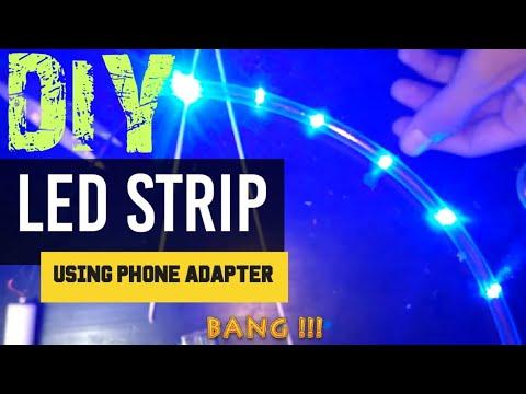 DIY USB LED strip