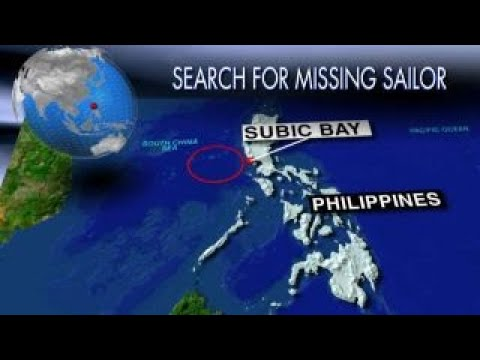 Search and rescue under way for missing American sailor