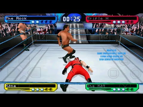 Cara Bermain Game WWF SmackDown! 2: Know Your Role PS1 Di Android - 동영상