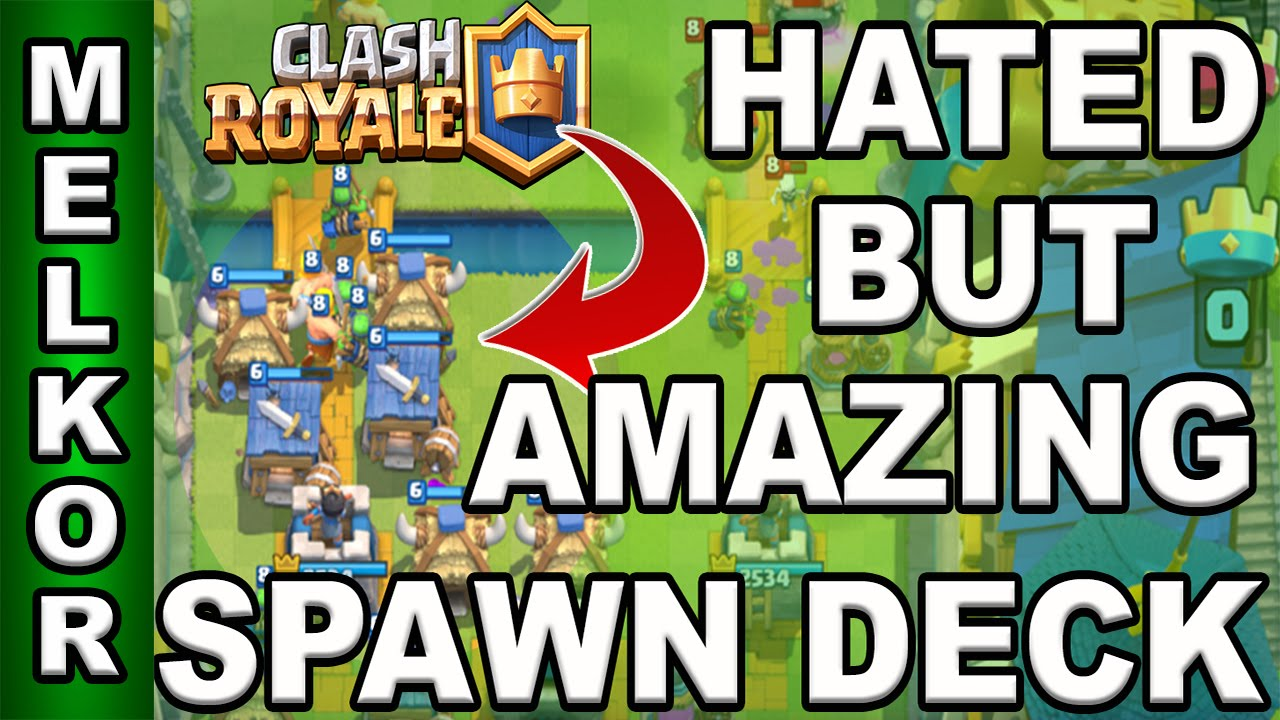 Clash Royale Best Spawn Deck Arena 7 8 9 Winning And Defeating Spawn Decks Gamingwithmelkor Youtube