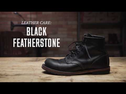 Red Wing Heritage - Black Featherstone Leather Care