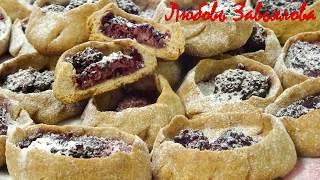 Корзиночки-галеты из цельнозерновой муки с ягодами, постные/Wholemeal Flour Basket with Berries