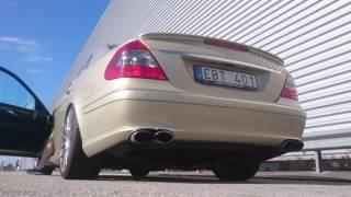 E420 CDI w/ DPF delete and muffler delete - exhaust sound