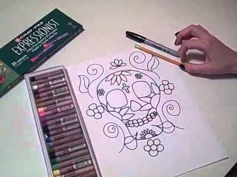 Dia De Los Muertos Calavera Youtube